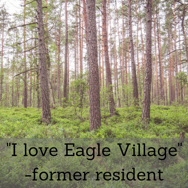 I Want to Help People the Way Eagle Village Helped Me