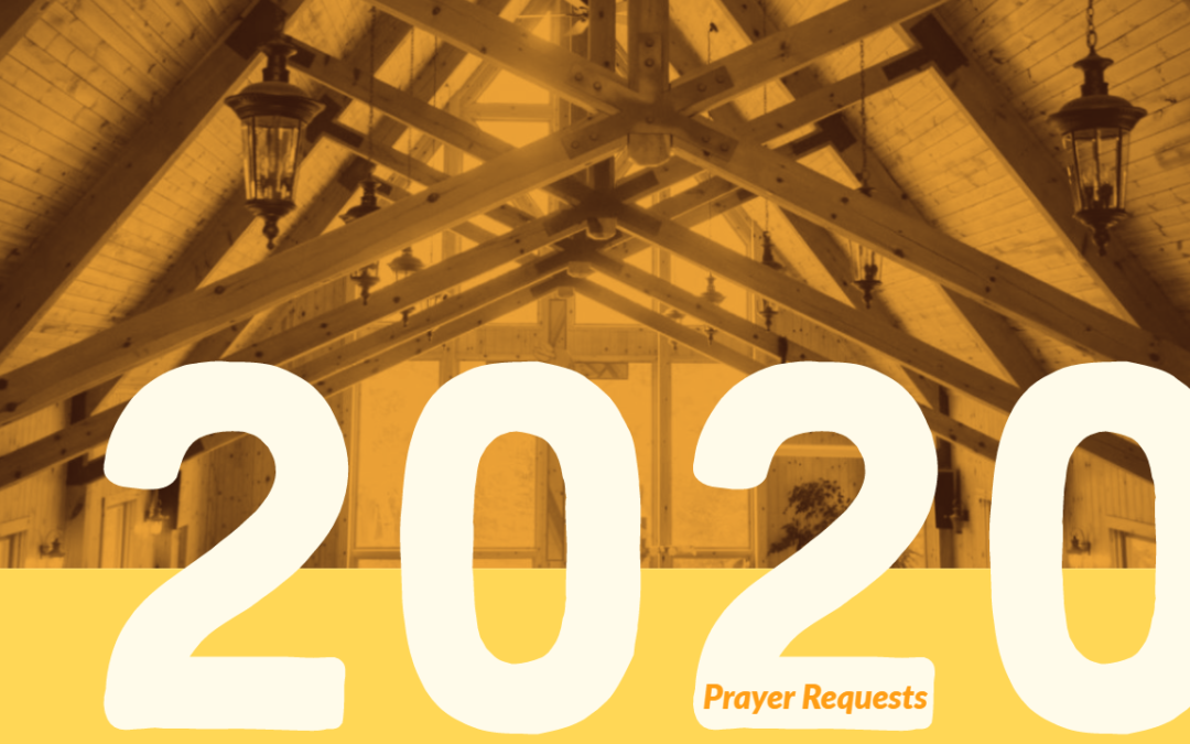 May 2020 Prayer Requests